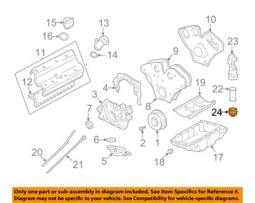 03 cadillac cts engine diagram cadillac gm oem 03 04 cts 3 2l v6 engine cap 24415390 ebay  cadillac gm oem 03 04 cts 3 2l v6