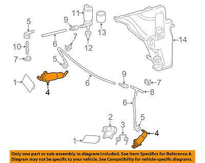 AUDI OEM allroad Headlight lamp Washer/wiper-Cylinder- Passenger side 8K0955102D