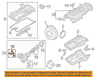 BMW OEM 17-18 540i xDrive 3.0L-L6 ENGINE-Oil Filter Housing 11428583895