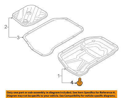 AUDI OEM 09-16 Q5 Transaxle Trans Oil Pan-Drain Plug WHT004072