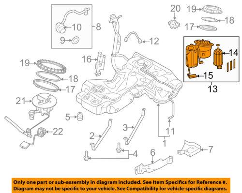 AUDI OEM 08-12 S5-Fuel Pump 8K0919051G | eBayeBay