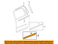 IPCW DH-TY2118A1 Chrome Driver Side//Passenger Side Front Outer Door Handle