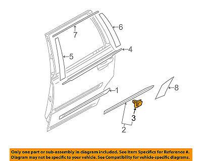 VOLVO OEM 03-14 XC90 Front Door-Lower Molding Clip 30784514
