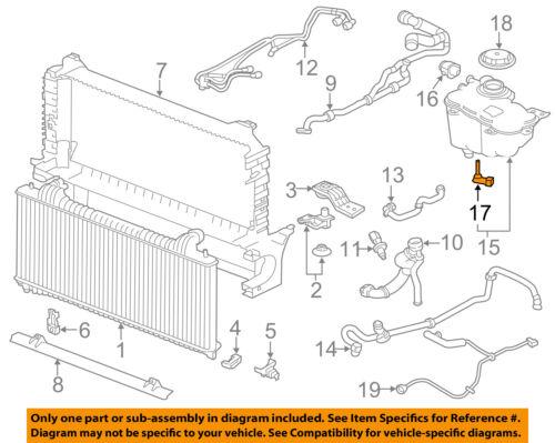 Details about JAGUAR OEM 10-15 XF Cooling System-Coolant Reservoir on