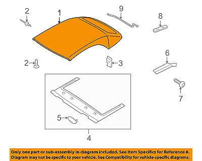 AUDI OEM 10-17 S5 Convertible/soft Top-Headliner 8F0871943ABS5