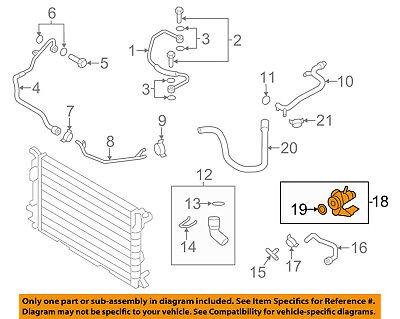 AUDI OEM 10-17 A5 Quattro 2.0L-L4 Cooling-Water Manifold 06H121132H