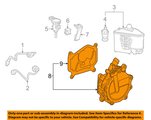 MERCEDES OEM 15-18 GLA45 AMG-Brake Vacuum Pump 1331800501
