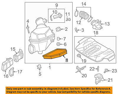 BMW OEM 13-16 M5 Engine-Air Filter Element 13727843284