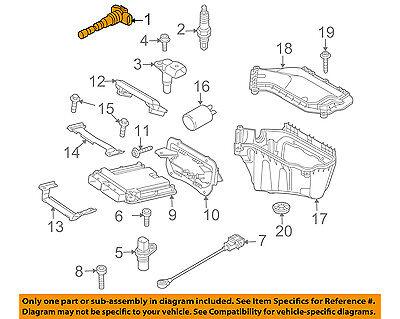 AUDI OEM 05-16 A4 Quattro-Ignition Coil 07K905715G