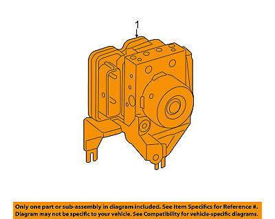 MERCEDES OEM B Electric Drive ABS Anti-lock Brakes-Modulator Valve 2424310912
