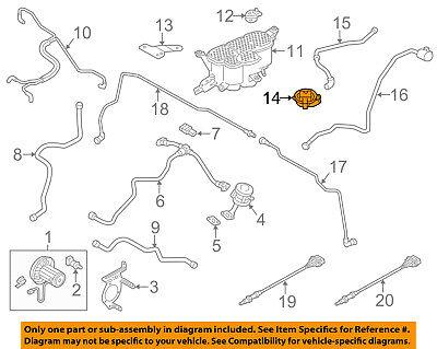 AUDI OEM 12-16 A6 Quattro Vapor Canister-Pressure Boost Switch 8K0906253L