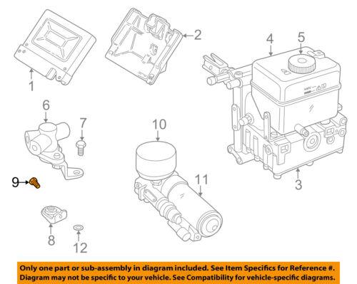 LAND ROVER OEM 02-05 Freelander 2.5L-V6 Abs-Valve Bolt ...