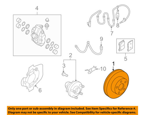 NISSAN OEM Front Brake-Disc Rotor D0206ZA500