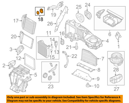 Vw Volkswagen Oem Passat Evaporator Heater Heater Core