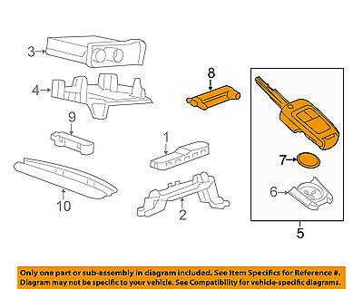 Chevrolet GM OEM 14-16 Spark EV Keyless Entry-Key 94543206