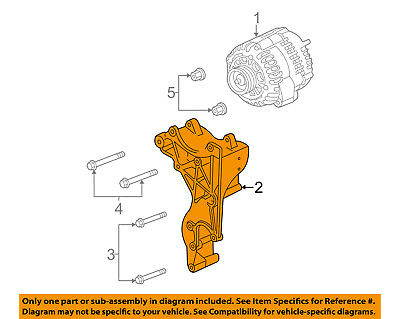 GM OEM-Alternator Bracket 12567922