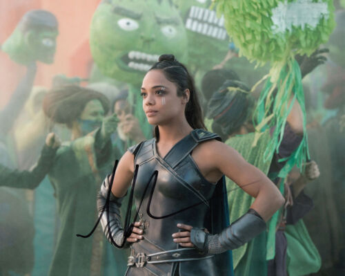 Tessa Thompson Authentic signed 10x8 Thor Ragnarok AFTAL, UACC & COA [15144]