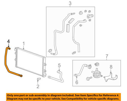 Chevrolet GM OEM 12-15 Camaro 6.2L-V8 Intercooler-Lower Hose Right 22798189