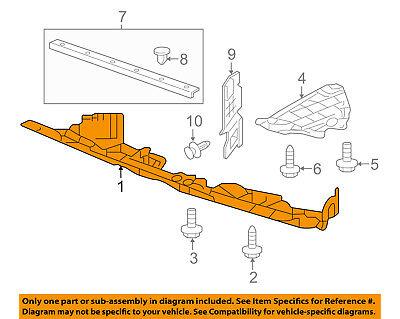 New HO1224105 Upper Radiator Support Cover for Honda CR-V 2010-2011
