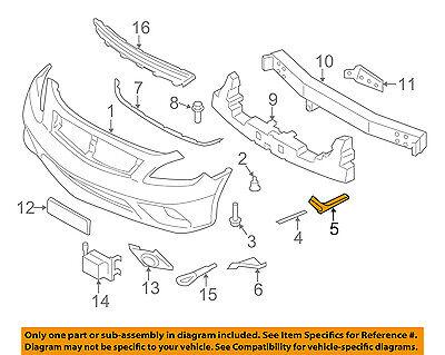 Infiniti OEM 99-02 G20-Bumper Cover Lower Left 622573J100