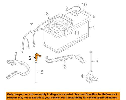 BMW OEM 07-13 328i 3.0L-L6 Battery-Drain Hose Connector 61211377835 | eBayeBay