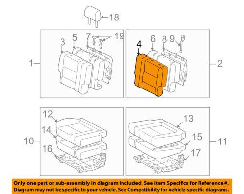 TOYOTA Genuine 79022-0C030-E2 Seat Cushion Cover Sub Assembly