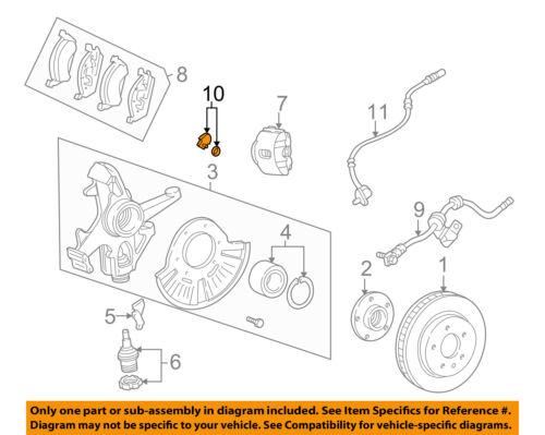 Loovey Rear Brake Pad Wear Sensor for BMW X3 F25 2.5si xDrive28i xDrive35i 34356790304 Auto Parts
