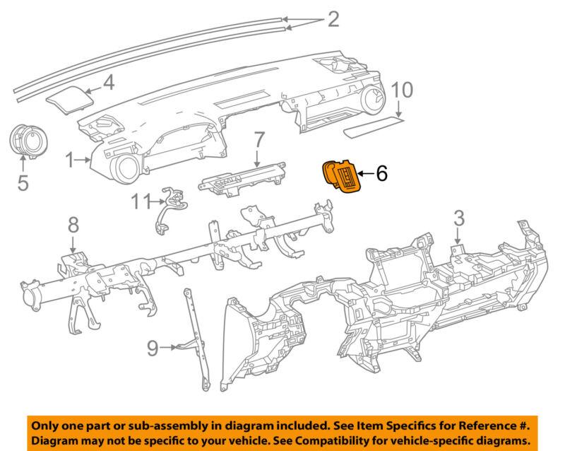 Toyota Oem 13-15 Rav4 Instrument Panel Dash-air Vent Grille Right 556800r010