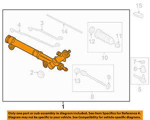 Chevrolet-GM-OEM-06-09-Impala-Steering-Gear-Gear-Assembly-19207777