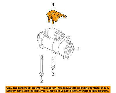 GM OEM Starter-Shield 12668713