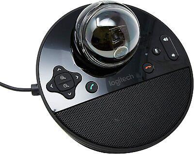 Logitech Conference Cam BCC950 Video Webcam Built-In Speakerphone