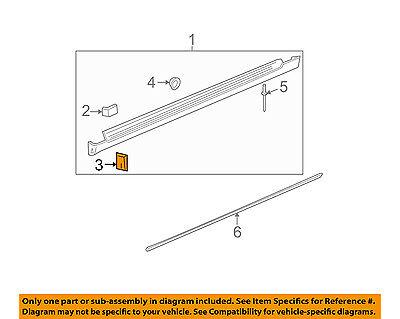 GM OEM Exterior-Rocker Molding U-nut 25605716