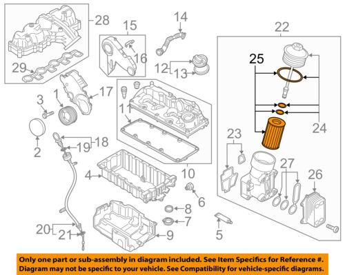 VW VOLKSWAGEN OEM 12-15 Passat Engine-Oil Filter 03L115562 | eBayeBay