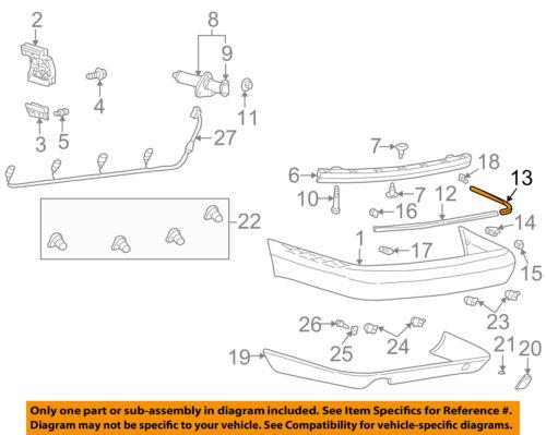 AUDI OEM 99-03 A8 Quattro-Bumper Trim-Outer Molding Right 4D08074602ZZ