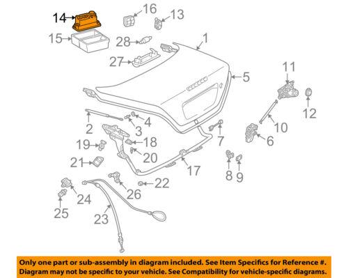 Details About MERCEDES OEM 01 04 SLK230 Trunk Lid Vacuum Pump 1708000848