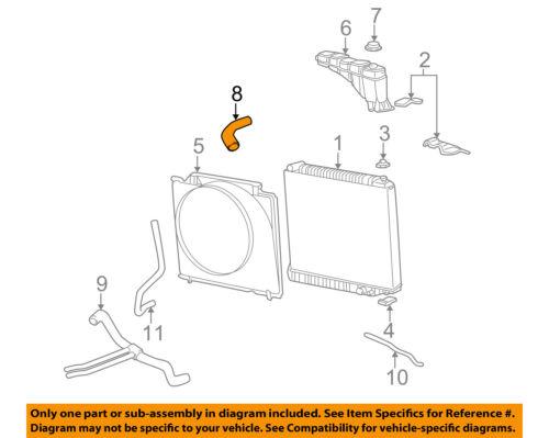 #8 on diagram only-genuine oe factory original item