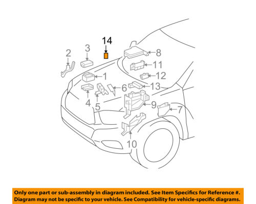 Details about TOYOTA OEM-ABS Relay 9008498032
