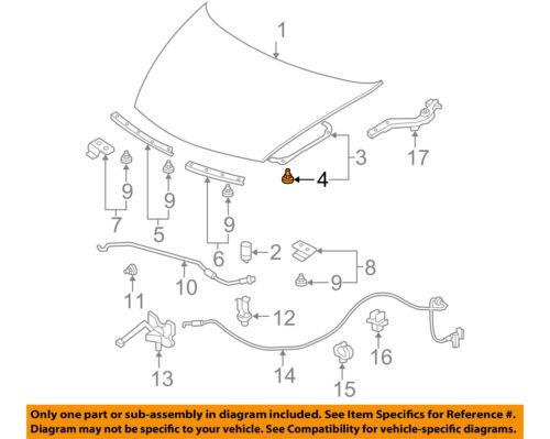 20Pcs Hood-Insulator Insulation Pad Liner Clip For Honda 91501-SWA-003