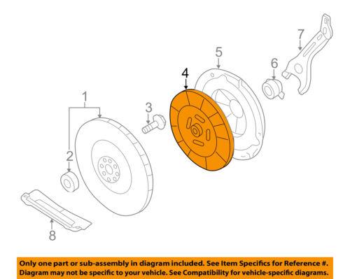 SUBARU OEM 04-14 Impreza Clutch-Disc 30100AA883