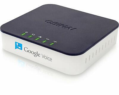 OBi202 2-Port VoIP Phone Adapter with Google - 2 Voip Ports