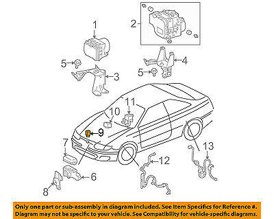 TOYOTA OEM-ABS Relay 8826321010