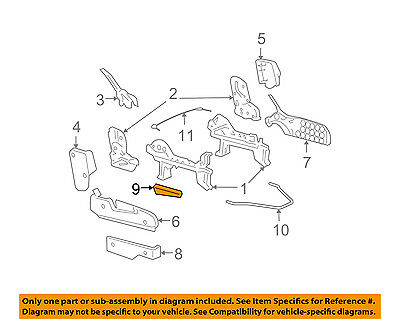GM OEM Front Seat Track-Recline Handle Lever Right 19177313 - Oem Front Seat