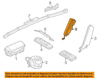 AUDI OEM 15 17 A3 Airbag Air Bag SRS Side Impact Inflator Module 5G0880441A