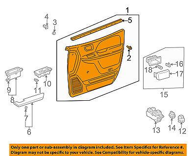 TOYOTA OEM 98-00 Sienna Front Door-Interior Trim Panel Left 6762008020E1