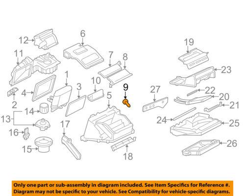 GM OEM Evaporator Heater Actuator 15842338