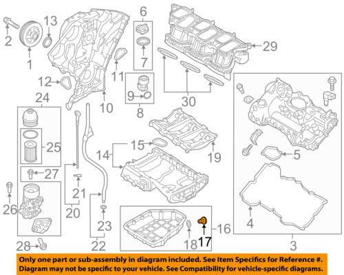 Hyundai Oem 99 18 Elantra 2 0l L4 Engine Oil Drain Plug 2151223001 Ebay