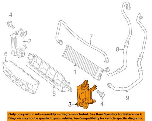 FORD OEM 15-16 F-150 Transmission Oil Cooler-Mounting Bracket FL3Z7B142A