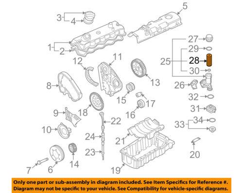 beetle engine diagram vw volkswagen oem 98 06 beetle engine oil filter 074115562 ebay volkswagen beetle engine diagram vw volkswagen oem 98 06 beetle engine