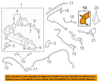 BMW OEM 09-16 X5-Oxygen O2 Sensor 13628589844