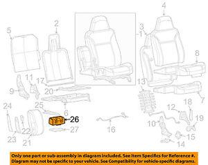 GM-OEM-Rear-Seat-Seat-Back-Frame-Holder-Left-89039574